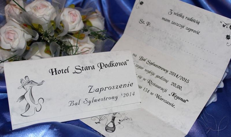 Zaproszenia Na Sylwestra Sylwestrowe Karnawałowe Andrzejkowe